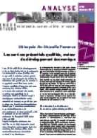 INSEE :  Analyse 39 | Services présentiels | 2013