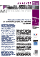 INSEE : Analyse 34 | Territoire Solidarités | 2013